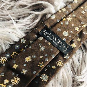 Lanvin Flower tie